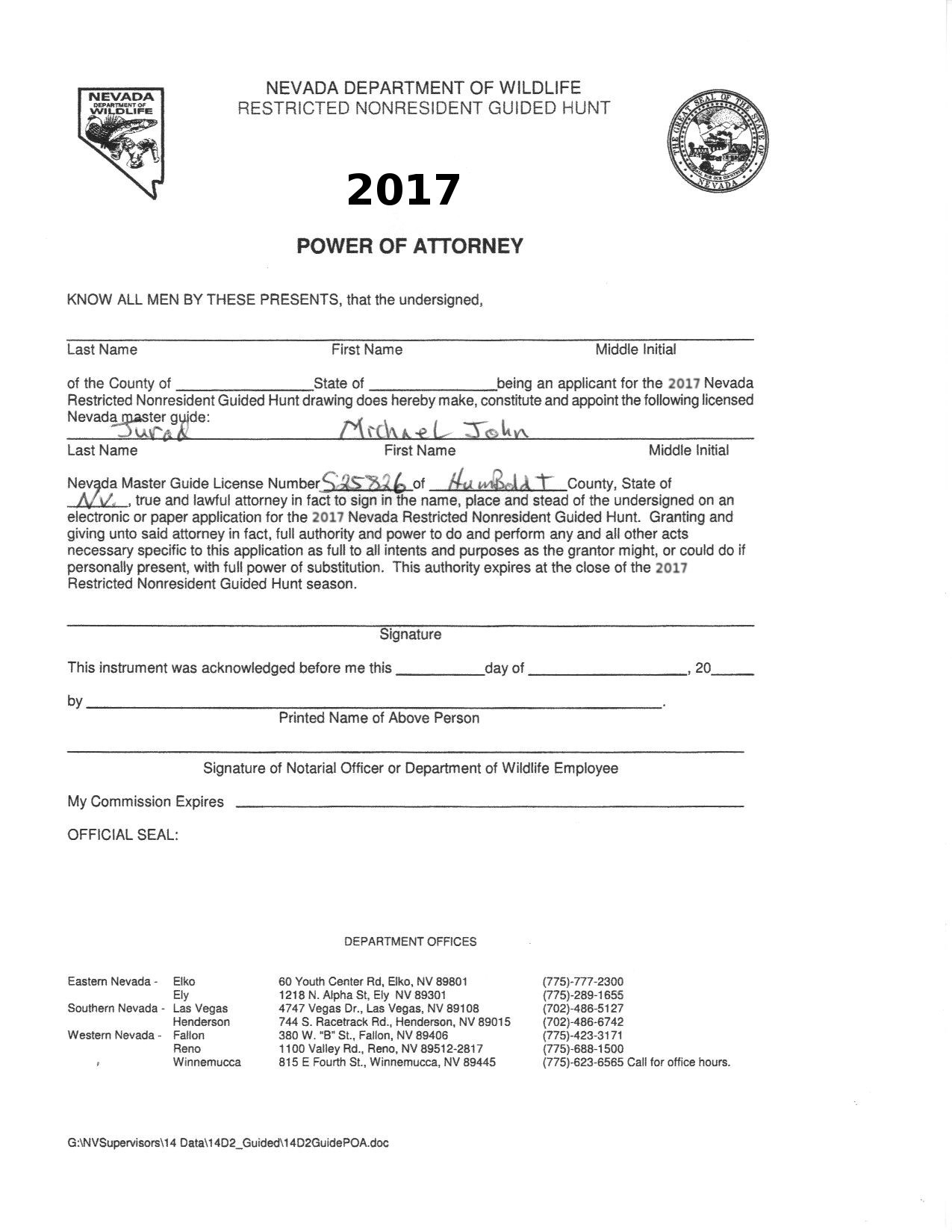 Mountain man outfitters quality hunts and outdoor experiences print out this form and falaconquin